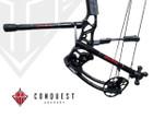 Conquest Archery - .750 Complete Hunter - 6F / 8B - Matte Black