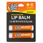 Dead Down Wind - Broad Spectrum SPF 30 Lip Balm - 2 Pack