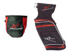 Carbon Express - Field Quiver & Release Pouch Combo - Red/Black - RH