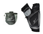 Carbon Express - Target Quiver & Release Pouch Combo - Black/Silver - RH