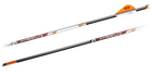 "BARNETT - 22"" HYPERFLITE Arrows - .001"" - SD Crossbow bolt - .204 Dia - w/ Metal Nock & Outsert - 3 Pack"