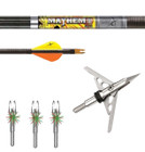Bowhunters Supply Store - Mayhem DS Arrow Package w/ Rage HD Broadheads