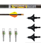 Bowhunters Supply Store - Mayhem DS Arrow Package w/ Shuttle T-Lok Broadheads