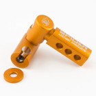 Spider Archery - Side Bar Bracket - Left Hand - Orange