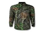 EHG - Quater Zip Long Sleeve - MO Obsession - Large