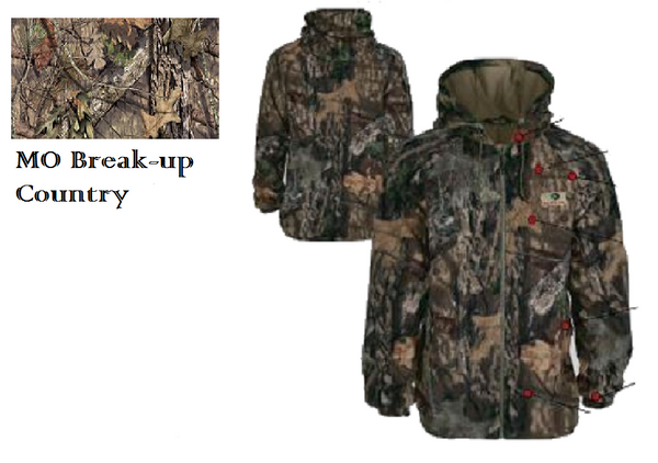 EHG Sherpa Wasatch Jacket MO BREAKUP COUNTRY XL
