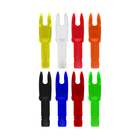 Easton - G Nock - Small Groove - Green - 12 pack