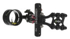 Axcel LANDSLYDE Slider Sight - Non-Dampened - with AV-41 Scope - Single Pin - .019 Green Fiber - Black Sight