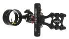 Axcel LANDSLYDE Slider Sight - Non-Dampened - with AV-41 Scope - Single Pin - .019 Red Fiber - Black Sight