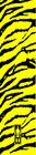 "Bohning - 7"" Small Arrow Wraps - Yellow Tiger - 13 Pk"