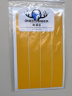 """BSS - 7"""" Solid Reflective Yellow Wraps - 12 PK"""