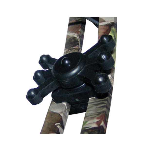 """BowJax Black Split Limb Magnum Fits 1/2"""" Gap"""