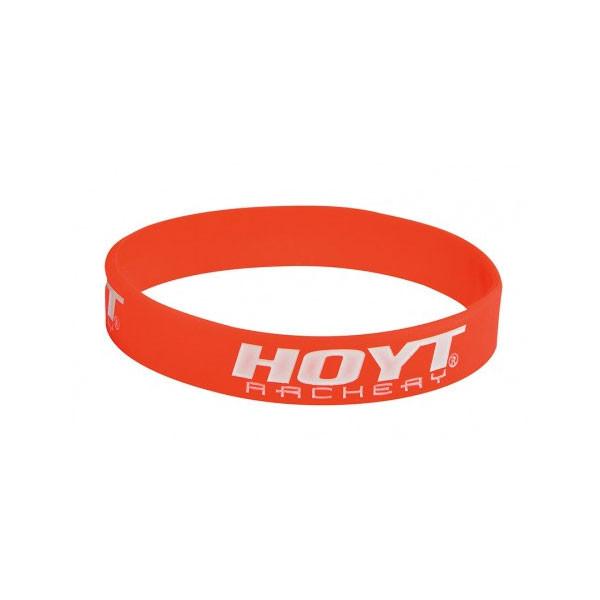 Hoyt Red & White Wristband