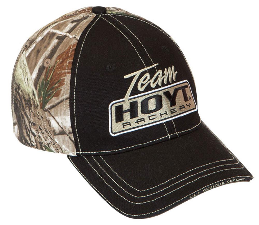 b760ce945e7 Hoyt Black and Camo Cap - Caps   Hats