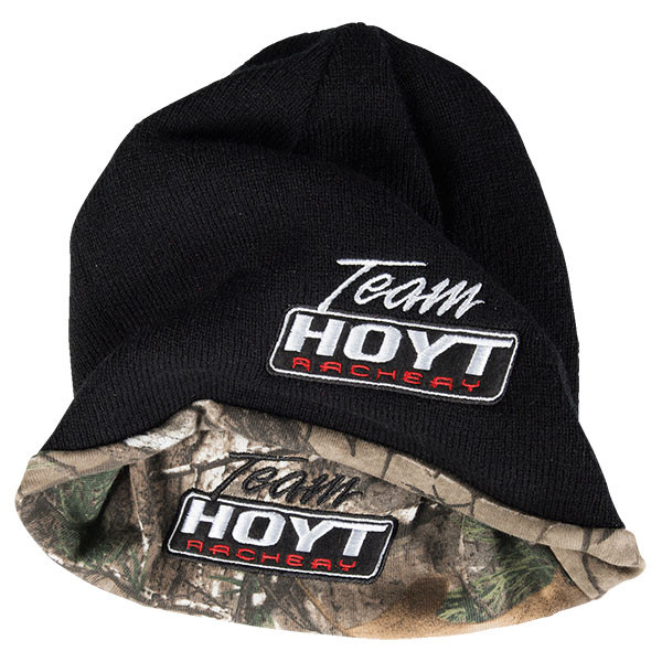 0c1271964f4 Hoyt Team Black and Camo Reversible Beanie - Bowhunters Supply Store
