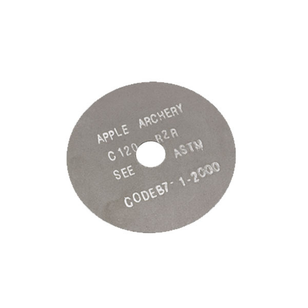 Apple Black Silicon .025 x 3.00 Saw Blade, Graphite Coated