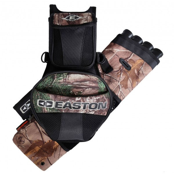 Easton Flipside 4-Tube Hip Quiver Realtree, Fits RH and LH