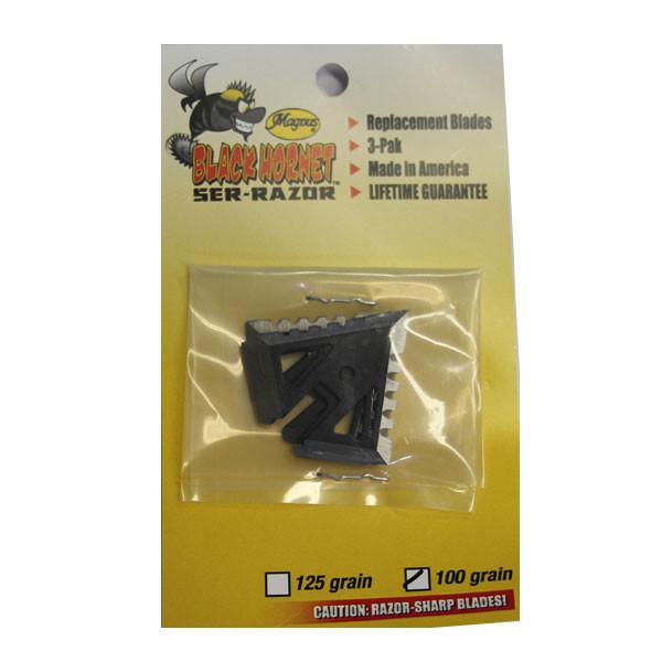 Magnus Black Hornet Ser Razor 100 Grain Main Blade 3 Pack