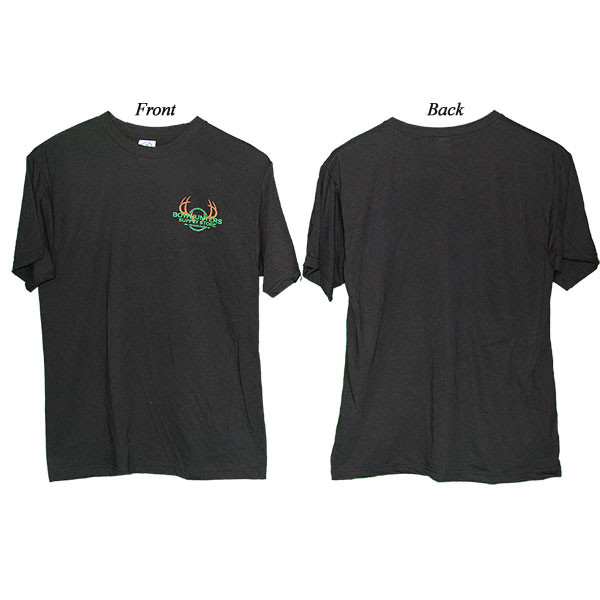Bowhunters Supply Store Performance Quick-Dry Black 3XL