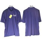 Bowhunters Supply Store Polo Royal Blue/White Medium