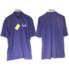 Bowhunters Supply Store Polo Royal Blue/White Large