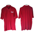 Bowhunters Supply Store Polo Red/White 2XL