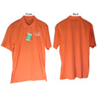 Bowhunters Supply Store Polo Neon Orange/White XL
