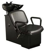 Kaemark W-70 Westfall Tilt-Bowl Unit with Leg Rest