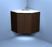 7051 Day Spa Corner Cabinet With Sink