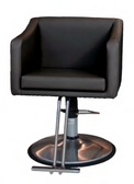 Belvedere LK12 Look Styling Chair with Chrome Base