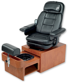 Pibbs PS93 Footsie Pedicure Spa with Vibration Massage Chair