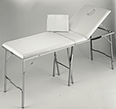 Pibbs FB705 Valigia Folding Massage Bed with Adjustable Back