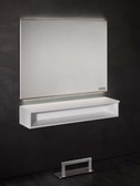 Salon Ambience MI/380 Horizon Mirror Station with Shelf