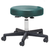 Earthlite Rolling Pneumatic Stool