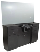 Collins 5501-66 QSE Barber Wet Booth Station