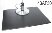 IC Urethane 43AF50 4' x 3' Rectangle Salon Mat No Chair Depression