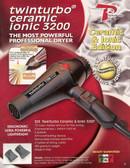 Turbo Power 3200 323A Ceramic Ionic Twin Turbo Blow Dryer