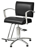 Pibbs 5806 Rosa Styling Chair with Round Base