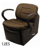 Collins 12ES Kelsey Electric Shampoo Chair with Kickout Legrest