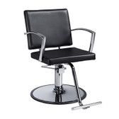 Savvy SAV-617T-CR-B Declan Styling Chair