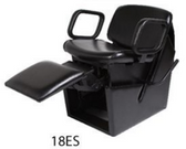 Collins 18ES QSE Electric Shampoo Chair with Legrest