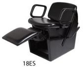 Collins 18ES QSE Electric Shampoo Chair with Legrest