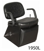 Collins 1950L Jaylee Lever Control Shampoo Chair with Legrest