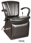 Collins 4450L Sean Patrick Lever Control Shampoo Chair with Legrest