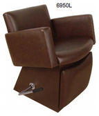 Collins 6950L Cigno Lever Control Shampoo Chair with Legrest