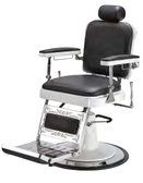 Pibbs 663 The Master Barber Chair with White Base