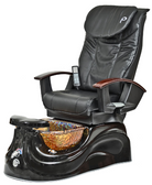 Pibbs PS65-1 San Marino Magnetic Jet Pedicure Spa with Shiatsu Massage Chair