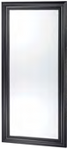 Pibbs 8827 Classic Mirror with Black Frame