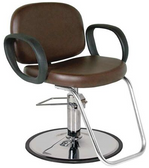 Jeffco 604.0.G Contour Styling Chair with Round Base