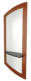 Collins 3351-36 Klips Wall-Mounted Mirror Panel with Klips Mirror and Ledge